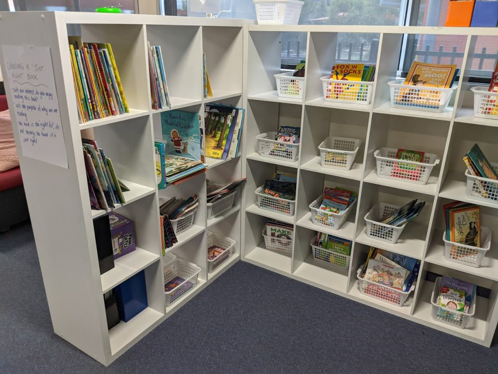 classroom library example