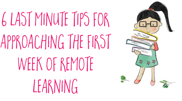 6 tips for approaching remote learning