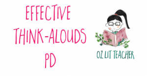 Effective think-alouds PD