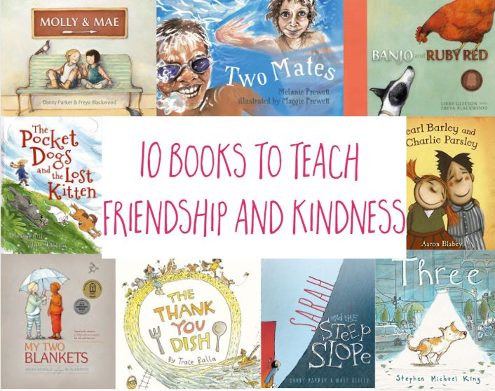 10 books to teach friendship and kindness