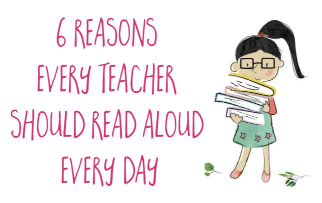 Why teachers should read aloud to students