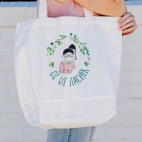 Oz Lit teacher tote
