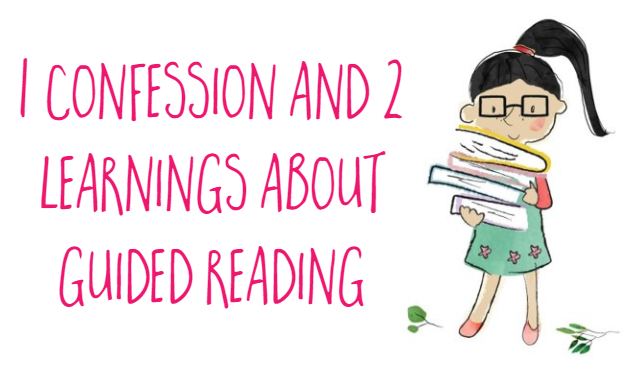 1 confession about Guided Reading