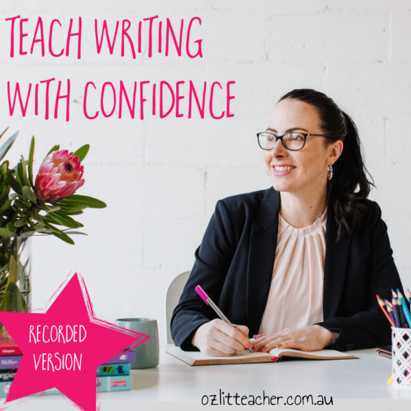 Teaching primary writing online course