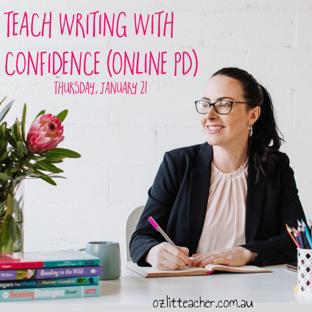 How to teach writing online course for teachers