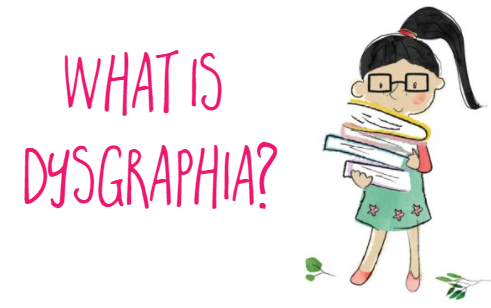 What is dysgraphia? How can I help a student with dysgraphia?