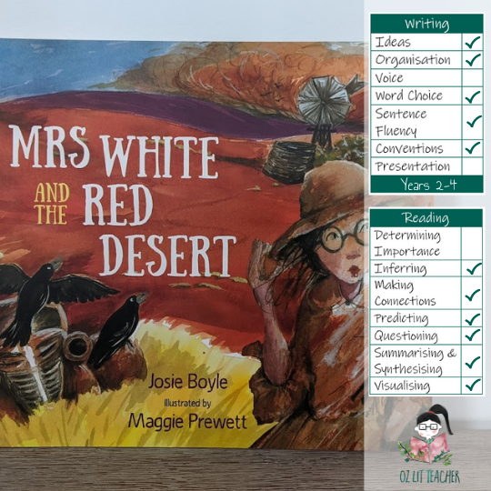 Narrative Mentor Text with teaching suggestions