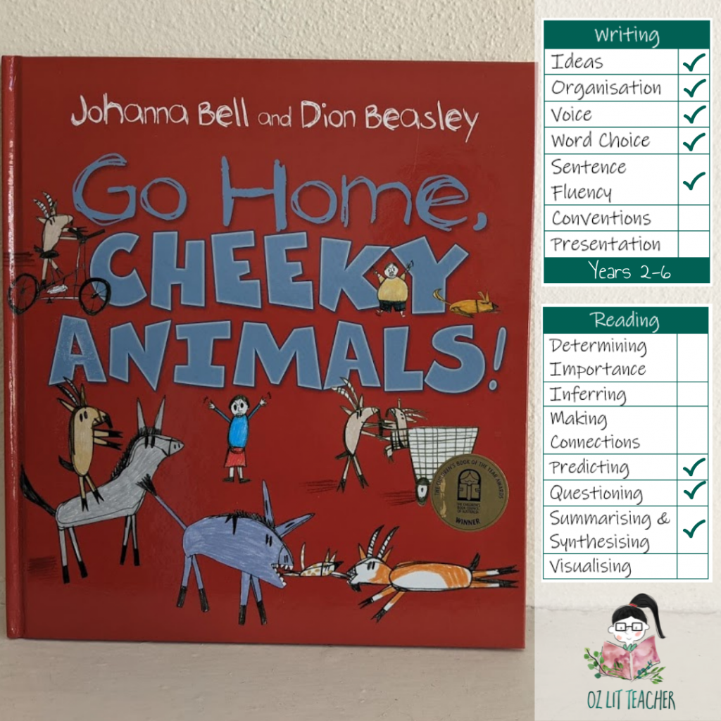 Go home, Cheeky Animals. List of books with disability