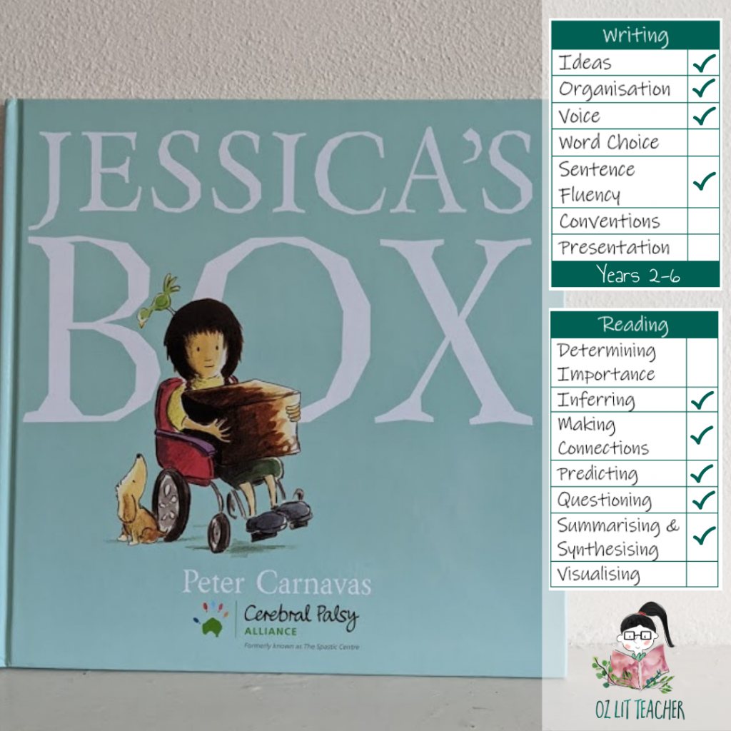 Jessica's box. List of books with disability