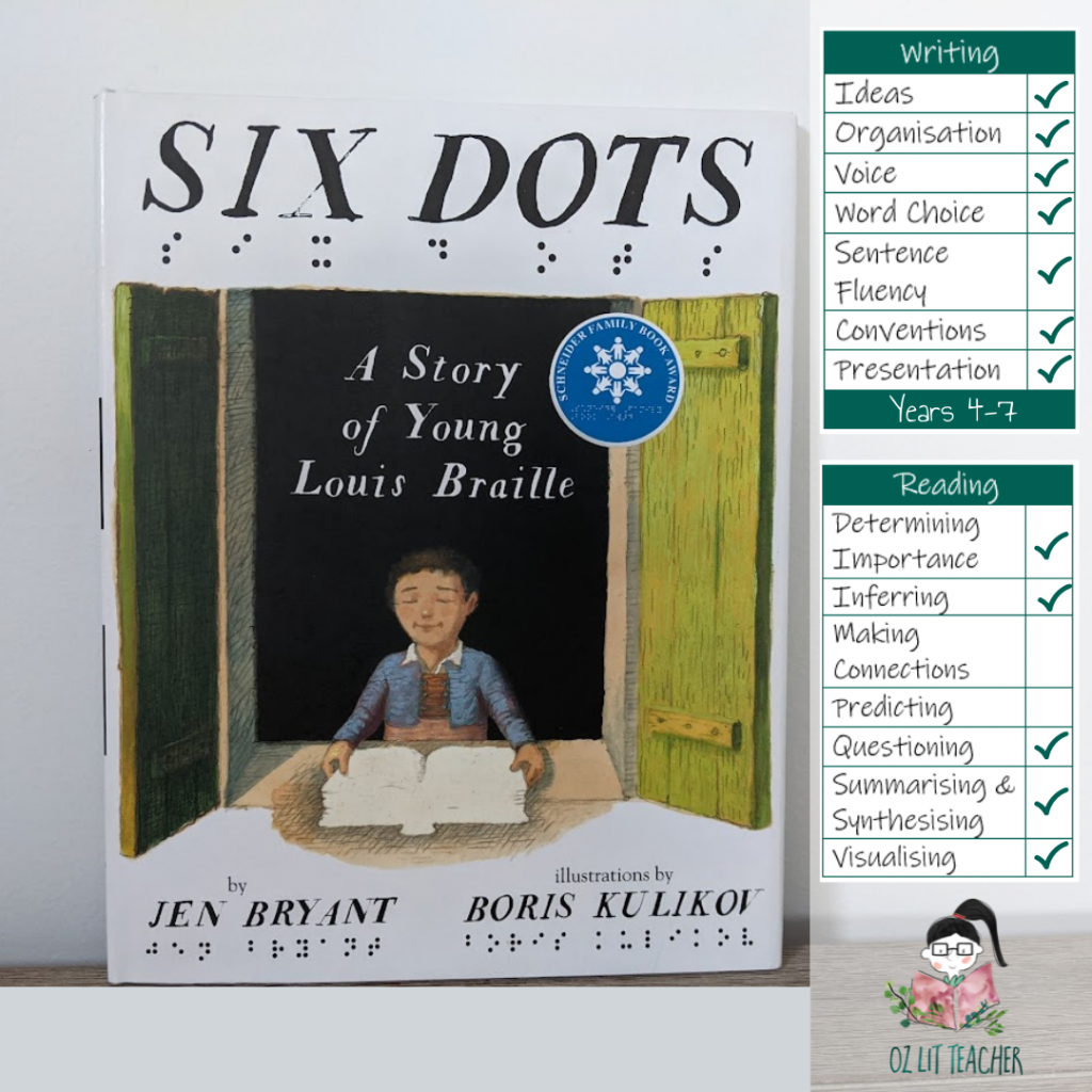List of children's books with disability. Vision impaired
